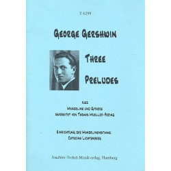 Gershwin, George: 3 Preludes : for mandolin and guitar parts