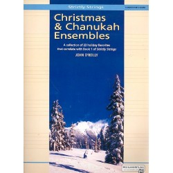 O'Reilly, John: Christmas and Chanuka Ensembles : for 2 violins, 2 violas, 2 violoncellos and 2 basses score