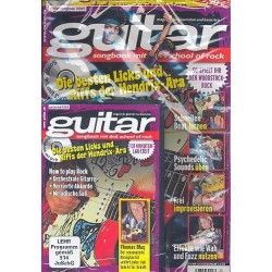 Blug,Thomas: Guitar : Songbook School of Rock vol.6 (+DVD)