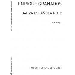 Granados, Enrique: Danza Espanola no.2 : for harp