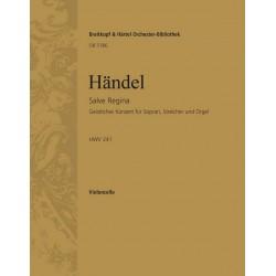 Händel, Georg Friedrich: Salve Regina HWV241 : für Orchester Violoncello