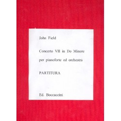 Field, John: Concerto no.7 do minore : per piano ed orchestra partition