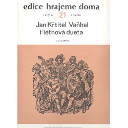Vanhal, Johann Baptist (Krtitel): Flötenduette Band 21 : für 2 Flöten Partitur