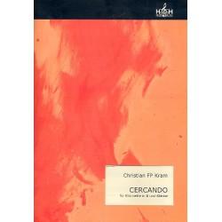 Kram, Christian FP: Cercando : für Klarinette in B und Klavier