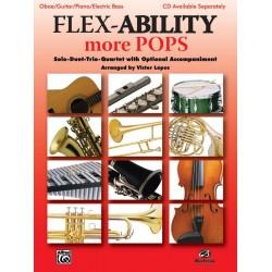 Flex-Ability more Pops : for 4 instruments (flexible ensemble) oboe score