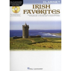 Irish Favorites (+CD) : for clarinet
