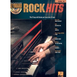 Rock Hits (+CD) : for Keyboard Keyboard Play-along vol.5
