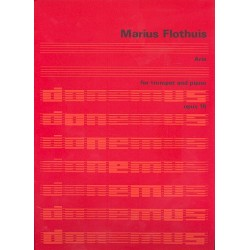 Flothuis, Marius Hendrikus: Aria op18 : für Trompete und Klavier