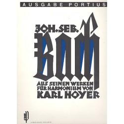 Hoyer, Karl: Bach : aus seinen Werken f├╝r Harmonium