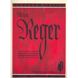 Hoyer, Karl: Reger : eine Auswahl seiner Werke f├╝r Harmonium