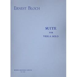 Bloch, Ernest: Suite : für Viola