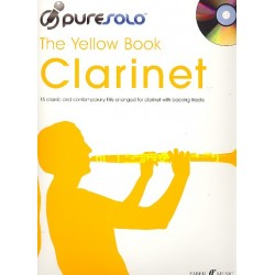 Pure Solo - The yellow Book (+CD) : for clarinet