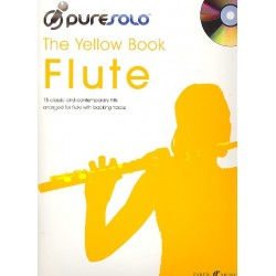 Pure Solo - The yellow Book (+CD) : for flute