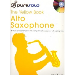 Pure Solo - The yellow Book (+CD) : for alto saxophone
