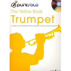Pure Solo - The yellow Book (+CD) : for trumpet