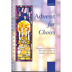 Advent for choirs for mixed chorus and piano