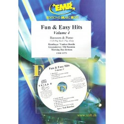 Fun and easy Hits vol.4 (+CD) : for bassoon and piano