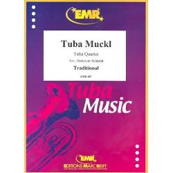 Tuba Muckl : for 4 tubas