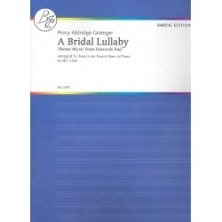 Grainger, Percy Aldridge: A bridal Lullaby : for horn and piano