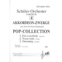 Jekic, Alexander: Akkordeonzwege Band 4 : f├╝r 4 Akkordeons und Bass Partitur
