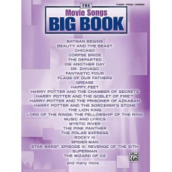 The Movie Songs Big Book : Songbook piano/vocal/guitar