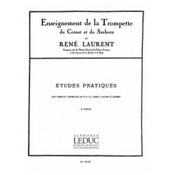Laurent, Réné: Etude Pratiques Vol.2 : pour trompette
