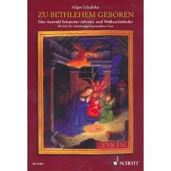 Zu Bethlehem geboren : für gem Chor und Klavier (Instrumente ad lib) Chorpartitur
