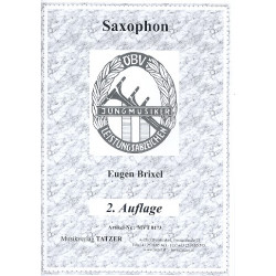 Brixel, Eugen: Jungmusiker Leistungsabzeichen 2. Auflage : f├╝r Saxophon