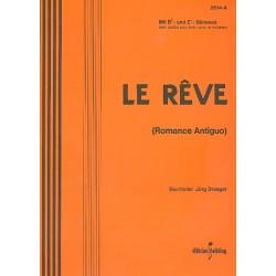 Draeger, J├Ârg: Le Reve : pour accordion