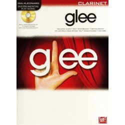 Glee (+CD) : for clarinet Instrumental Play along