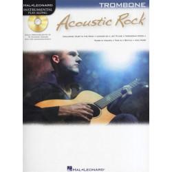 Acoustic Rock (+CD) : for trombone Instrumental Play Along