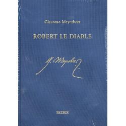 Meyerbeer, Giacomo: Robert le Diable Oper Klavierauszug 2 Bände