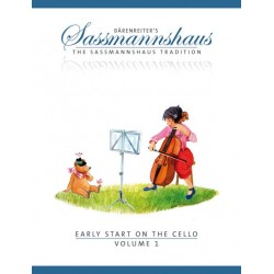 Sassmannshaus, Egon: Early Start on the Cello vol.1