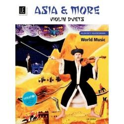 Igudesman, Aleksey: Asia and more : für 2 Violinen Spielpartitur
