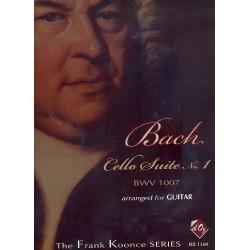 Bach, Johann Sebastian: Suite Nr.1 BWV1007 : for guitar