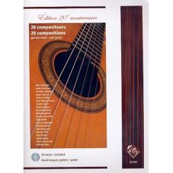 20 compositeurs (+CD) : pour guitare