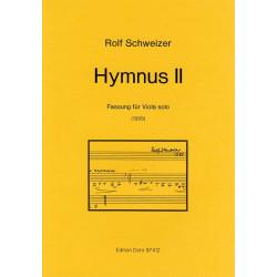 Schweizer, Rolf: Hymnus Nr.2 : für Viola
