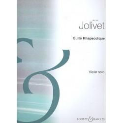 Jolivet, André: Suite Rhapsodique for violin