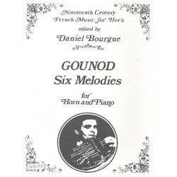 Gounod, Charles Francois: 6 Melodies : for horn and piano