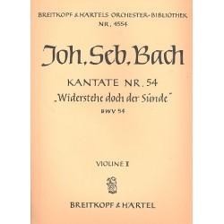 Bach, Johann Sebastian: Widerstehe doch der Sünde Kantate Nr.54 BWV54 Vl2