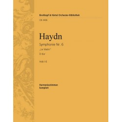 Haydn, Franz Joseph: Symphonie Nr.6 D-Dur Hob I:6 für Orchester Harmoniestimmen