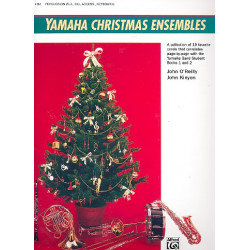Yamaha Christmas ensembles : for concert band Percussion