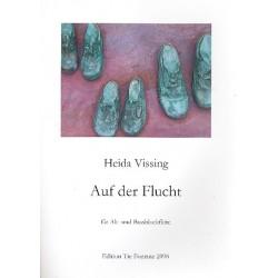 Vissing, Heida: Auf der Flucht : f├╝r Alt- und Bassblockfl├Âte Partitur