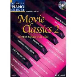 Movie Classics vol.2 (+CD) : für Klavier (mit Text und Akkorden)