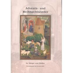 Advents- und Weihnachtslieder : für Gesang und Blasinstrument