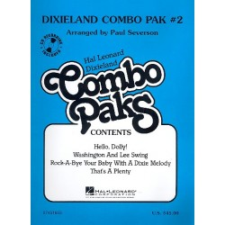 Dixieland Combo Pak vol.2 (+CD) : for combo score and parts