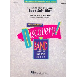 Perry, Steve: Zoot Suite Riot for concert band score and parts