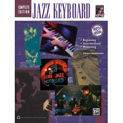 Jazz Keyboard (+CD) : The complete jazz keyboard method