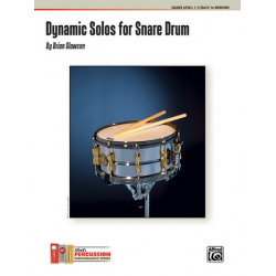 Slawson, Brian: Dynamic Solos : for snare drum