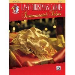 Easy Christmas Carols (+CD) : for alto saxophone